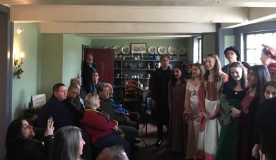 Madrigal Singers of Franklin Township High School @ The Abraham Staats House