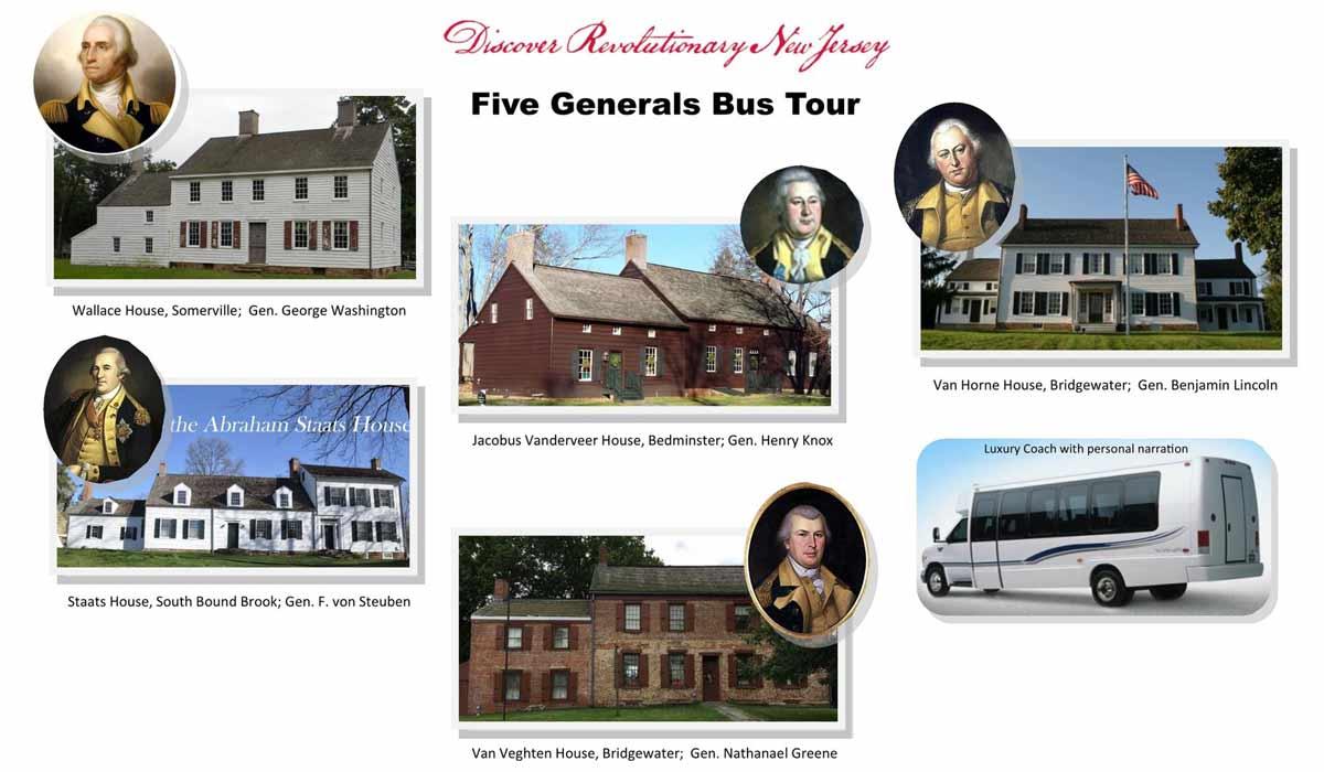 Five Generals Bus Tour