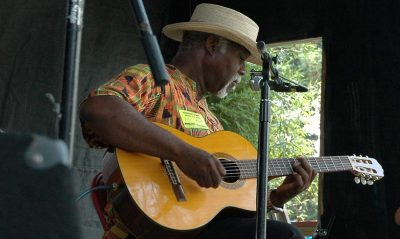 Joe Becton playing the Blues