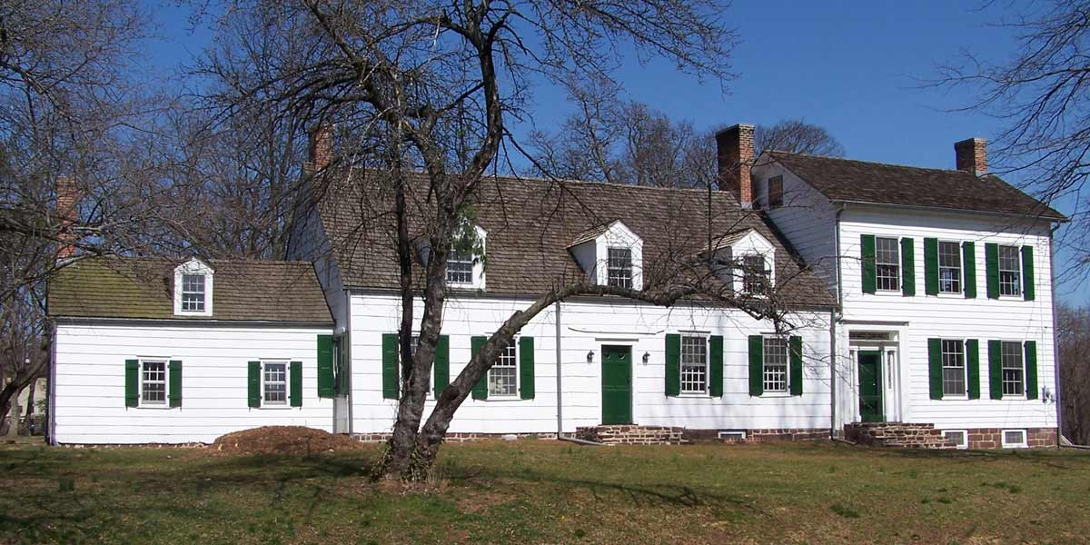The Abraham Staats House, South Bound Brook, New Jersey