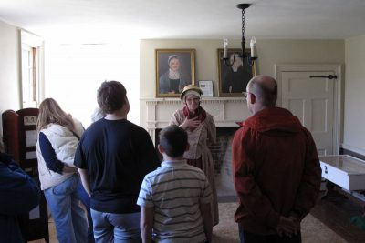 Tour of The Abraham Staats House - Battle of Bound Brook 2017