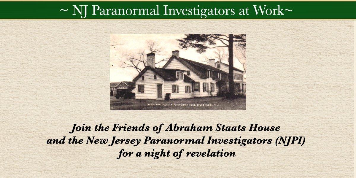 NJ Paranormal Investigators at Work